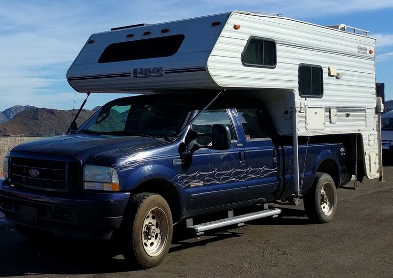 F350 with Lance Camper